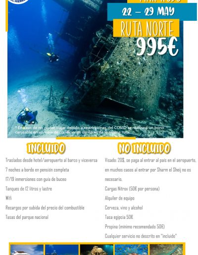 Mar Rojo Ruta Norte 22- 29 may
