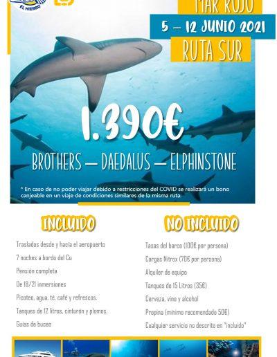 Mar Rojo Ruta Sur 5-12 jun