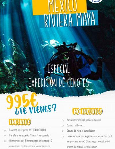 Mexico Cenotes Fechas