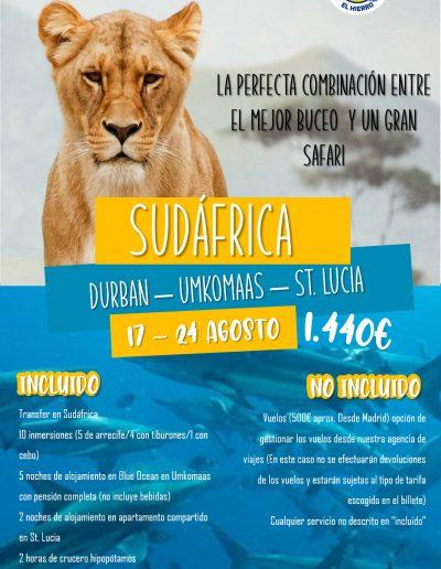 Sudafrica 17-24 agosto