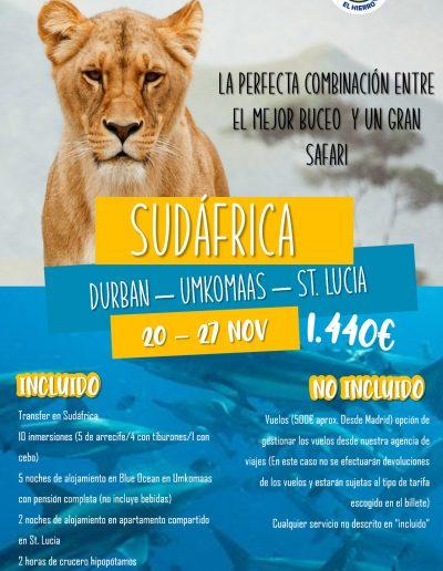 Sudafrica 20-27 nov